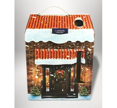 Коробка для новогодних подарков